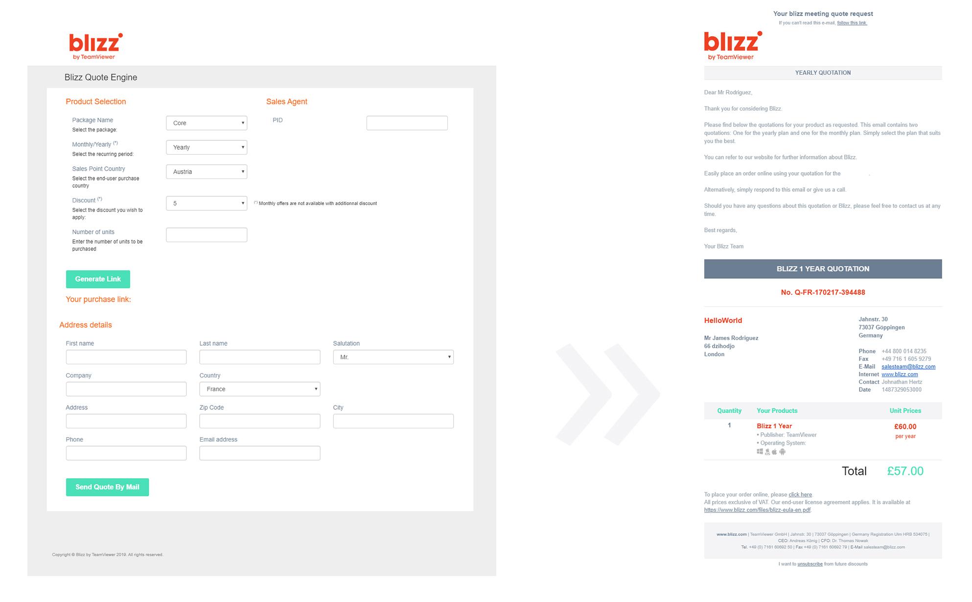 Use case - Blizz