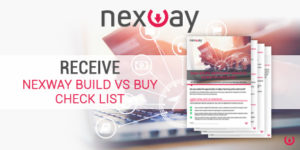 Receive Nexway Build Vs Buy check list