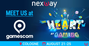 Meet Nexway's Business Development & Content Sourcing Team at Gamescom | August 21-25 – Cologne, Germany