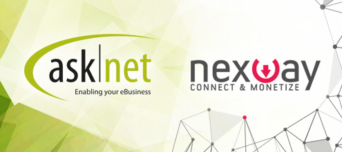 asknet AG™ et Nexway™ unissent leurs forces pour créer une plateforme mondiale Commerce‐as‐a‐Service et s'imposer comme le principal fournisseur de services aux commerçants